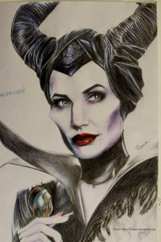 Maleficent by Books-Music-Dragons