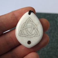 Celtic knot. Scrimshaw. 1 by BDSart