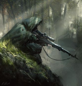 Sniper ambush by daRoz