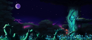 Maplestory Background - The Forrest that Glows by SoarDesigns