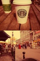Starbucks, the Arbat Street by YukiPi