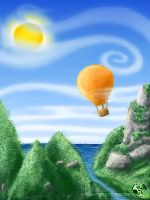 The Air-Balloon Ride,,, by blackdragonssoul