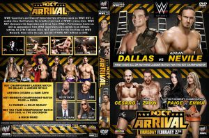 WWE NXT ArRival DVD Cover by Chirantha