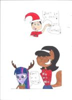 Merry Christmas 2014!!! by Dinosuarjosh