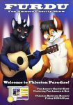 V - FURDU2014 - Fox Amoore Charity Show Poster by Temrin