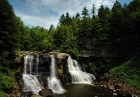 Blackwater Falls II by TimLaSure
