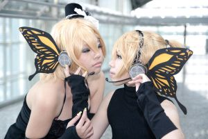 Vocaloid Magnet - Rin Len by Xeno-Photography