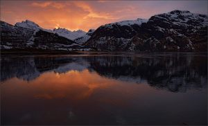 Reflections in cold water by NikolaiMalykh