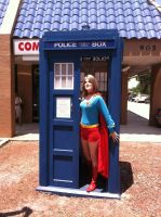 Wrong phone box, Supergirl! by Ave606