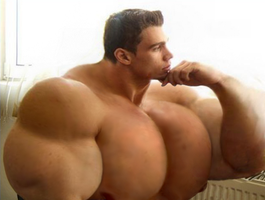 Thinking about how to get bigger muscles by UnitedbigMuscle