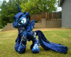 Princess Luna ragdoll, view 1 by joitheartist
