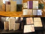 Handmade Books, Christmas 2013 by SilverDrgnbane