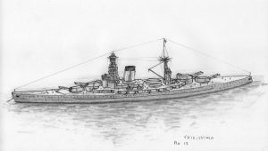 Japanese Battlecruiser No. 13 by leovictor