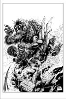Thunderbolts Page Inked by devgear