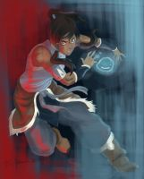 Art trade Challenge - Avatar: Legend of Korra by earthtoeru
