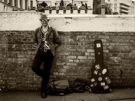 Guitar Man by InayatShah
