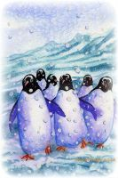 Penguines by Ezeg