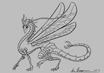 Insect Creature sketch by DigitalCrest