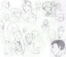 Noted Sketches by Mintsteak