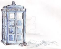 The Tardis by Jediya