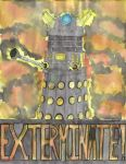 Dalek by geoffwrite