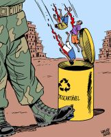 Disposable lives by Latuff2