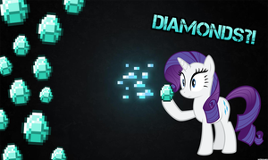 Rarity Diamond Wallpaper by Sky-Note