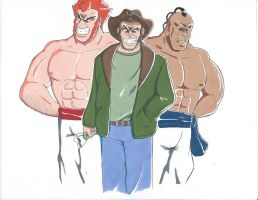 Judd Shamis and Bohad by SMALL-TOWN-HEROES