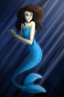 mermaid GlitchCode by Yewneko-chan14
