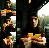 how to hurt an orange by photo-soulz