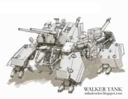 Walker Tank by MikeDoscher