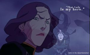 That lady is my hero--Lin Beifong by bolin-in-the-deep