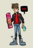 Marty McFly BTTF by JustinPeterson