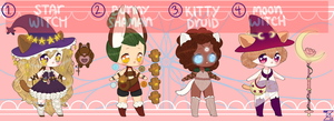 magic-y adopts! CLOSED, thanks! by zovielle