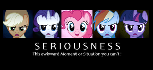Pinkie Pie isn't serious by Fluttershy1989