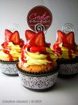 Faux Strawberry Cheesecake by CreativeAbubot