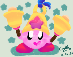 Bell Kirby by CinnamonMuffins