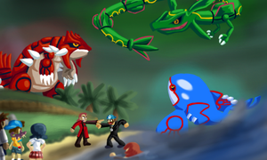 BrainScratchComms: Pokemon Emerald Thumbnail by SmashToons