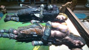 Farkas and Ulfric in bed by lostangel1987