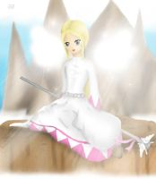Maggie the White Mage II by Lady-of-Link