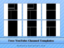Free YouTube Channel Template by demeters