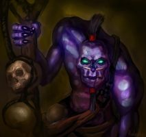 Witch Doctor, Dota 2 by AndreyRudenko