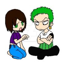 Trisha and Zoro.:ARGUMENT:. by silverwolf900