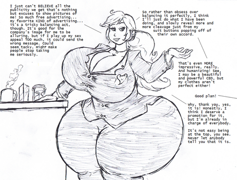 Corporate Curves by Saxxon
