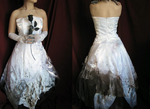 Distressed Wedding Gown by fantasia1940