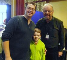Robert Llewellyn at Wyntercon 2014 by mikedaws