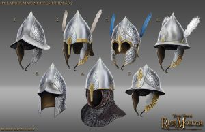 Pelargir Helmets Ideas 2 by RobbieMcSweeney