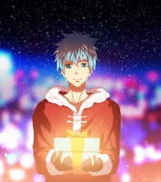 Kuroko  New Year color by afran67 by afran67