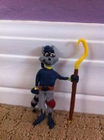 Sly Cooper Sculpture by SlyCooperGal