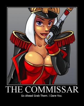 The Commissar by The-Imperial-Guard